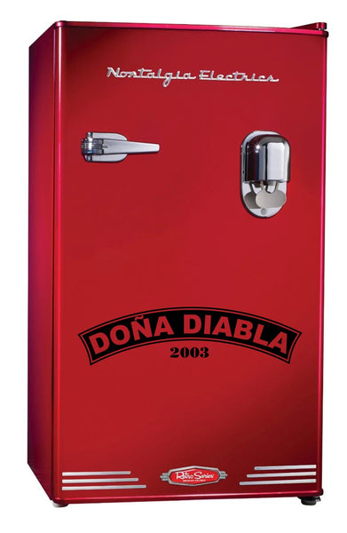 Dona Diabla decal, beer decal, car decal sticker