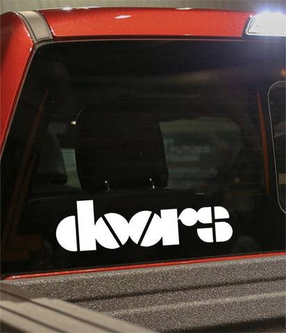 doors band decal - North 49 Decals