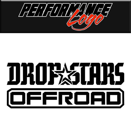 Dropstars Wheels decal, performance car decal sticker