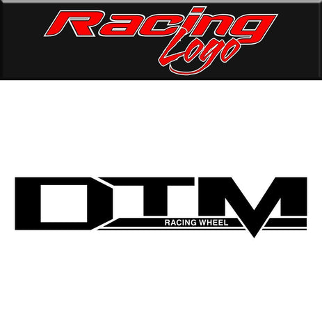 DTM Racing Wheel decal, racing sticker