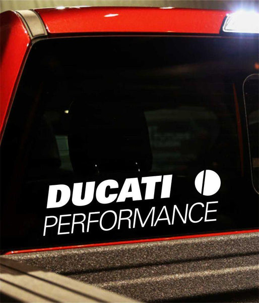 ducati performance logo decal - North 49 Decals