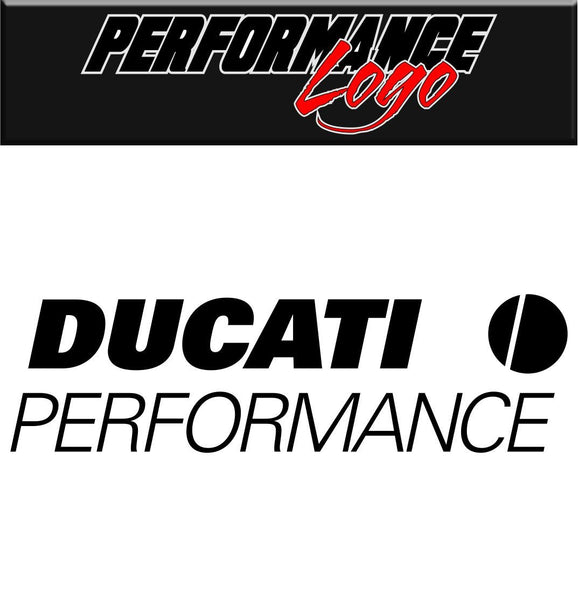 Ducati decal performance decal sticker