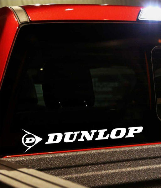 dunlop performance logo decal - North 49 Decals