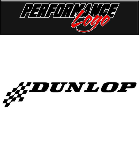 Dunlop decal performance decal sticker