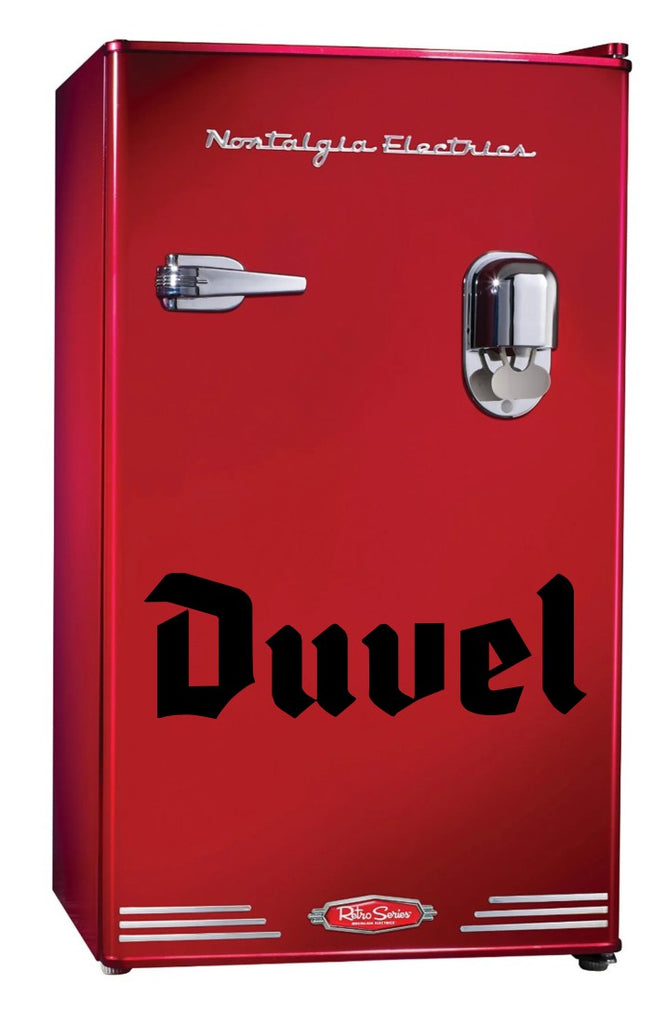 Duvel decal, beer decal, car decal sticker