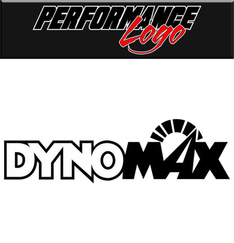 Dynomax decal performance decal sticker