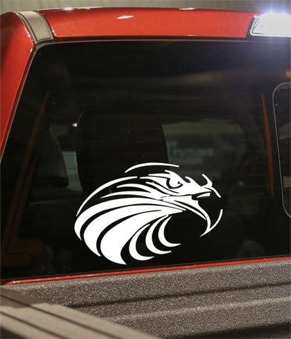 eagle 3 flaming animal decal - North 49 Decals
