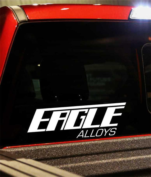 eagle alloys performance logo decal - North 49 Decals