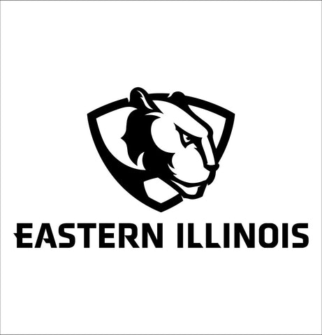 Eastern Illinois Panthers decal, car decal sticker, college football