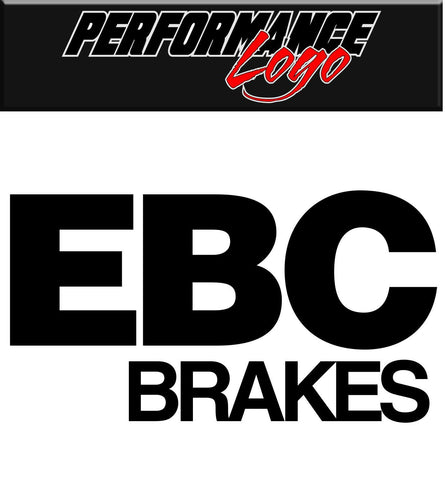 Ebc Brakes decal performance decal sticker
