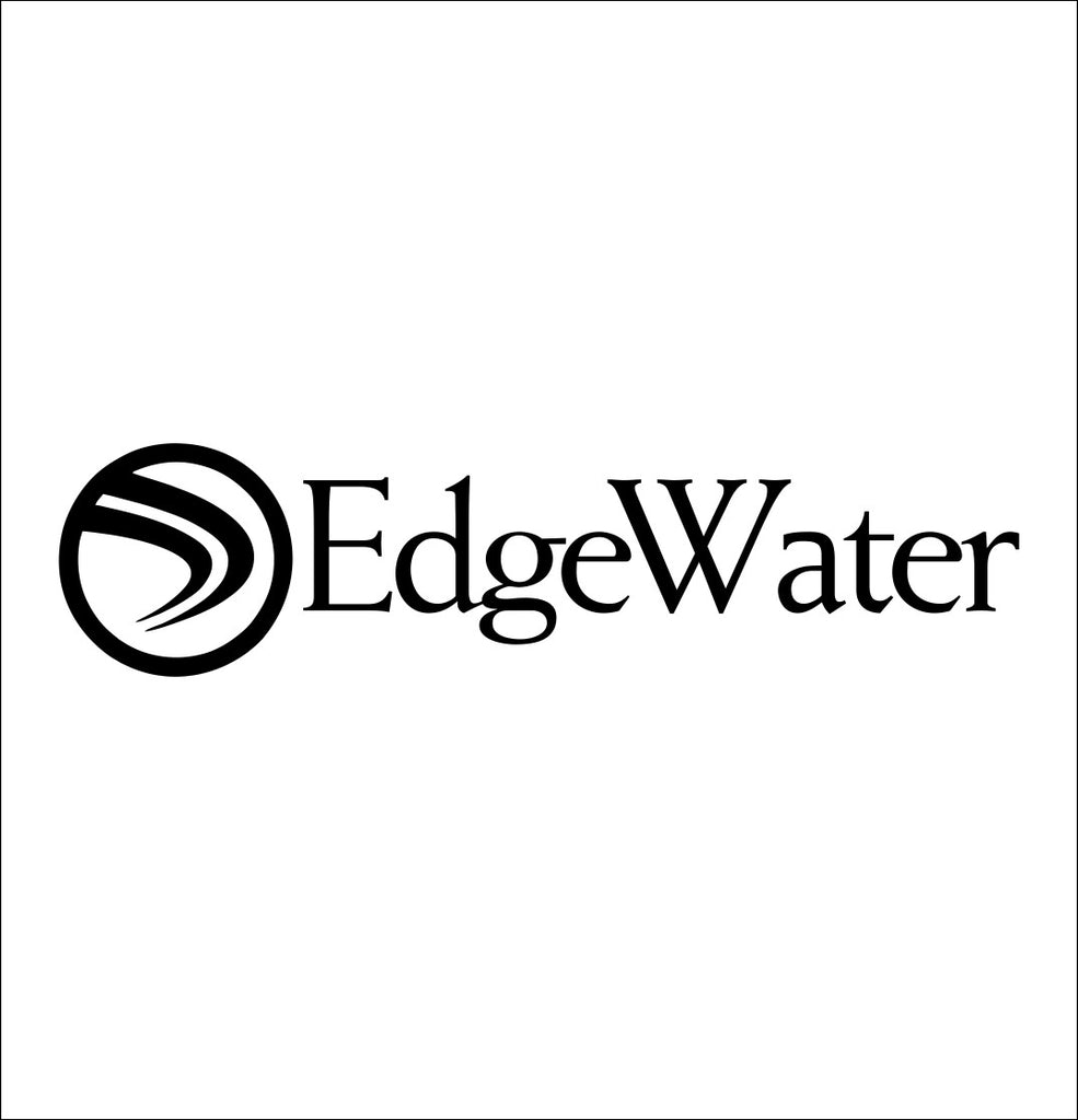 Edgewater Boats decal, sticker, hunting fishing decal