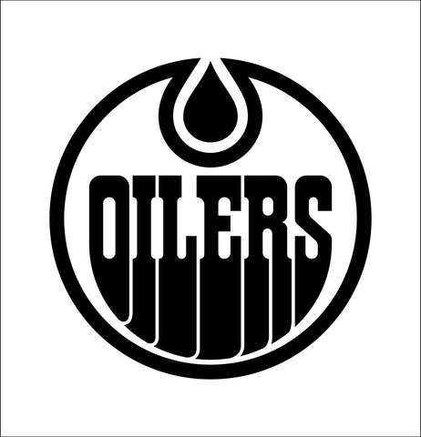 Edmonton Oilers decal, sticker, nhl decal