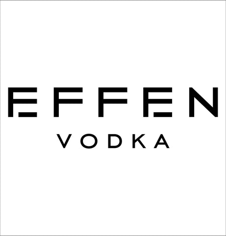 Effen decal, vodka decal, car decal, sticker