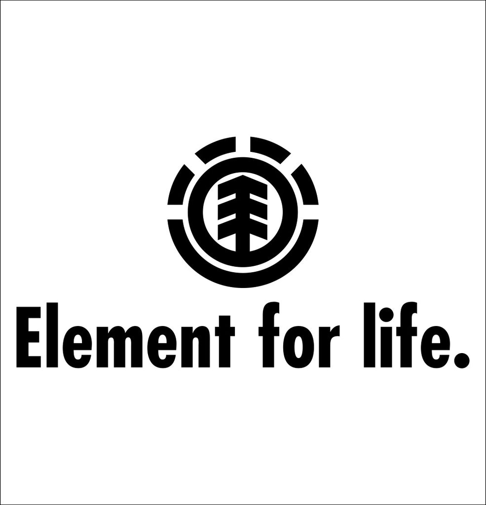 Element Skateboards 5 decal