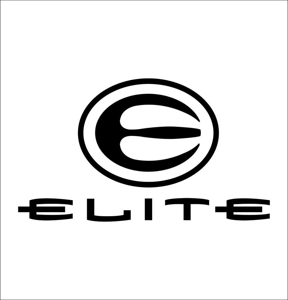 Elite Archery decal, sticker, car decal