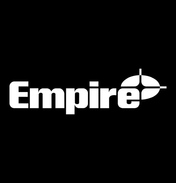 empire level decal, car decal sticker
