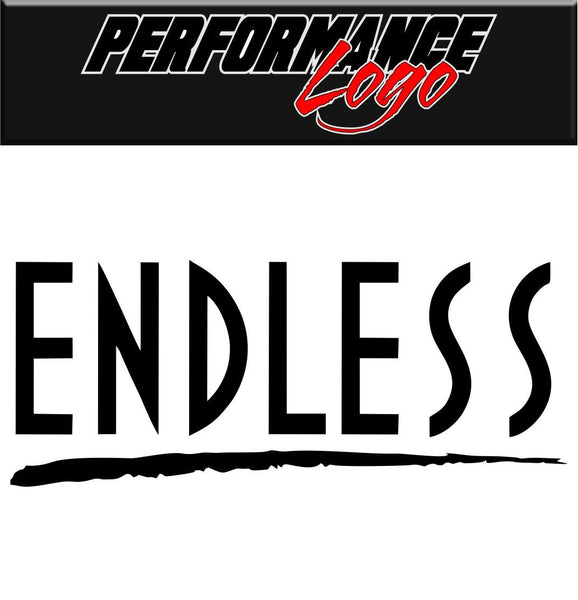 Endless decal performance decal sticker