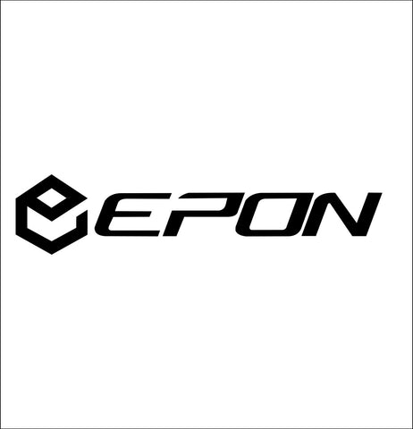 Epon decal, golf decal, car decal sticker