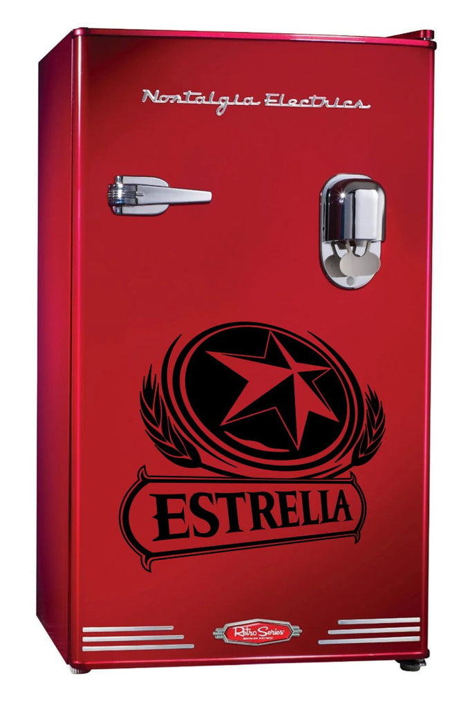 Estrella decal, beer decal, car decal sticker