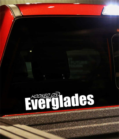 everglades boats decal, car decal, fishing sticker