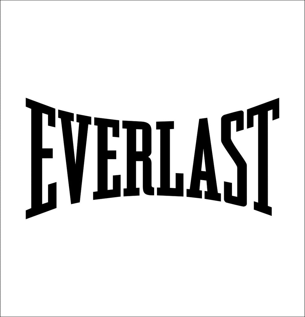 everlast decal, car decal sticker