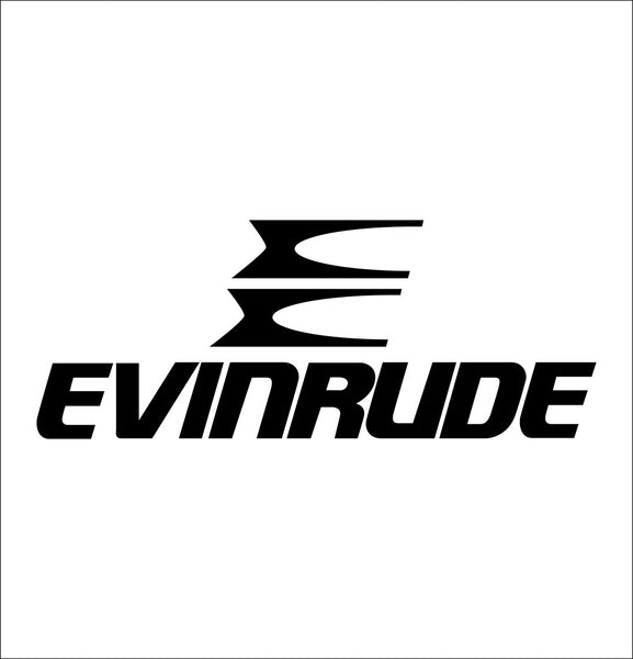Evinrude decal, sticker, hunting fishing decal