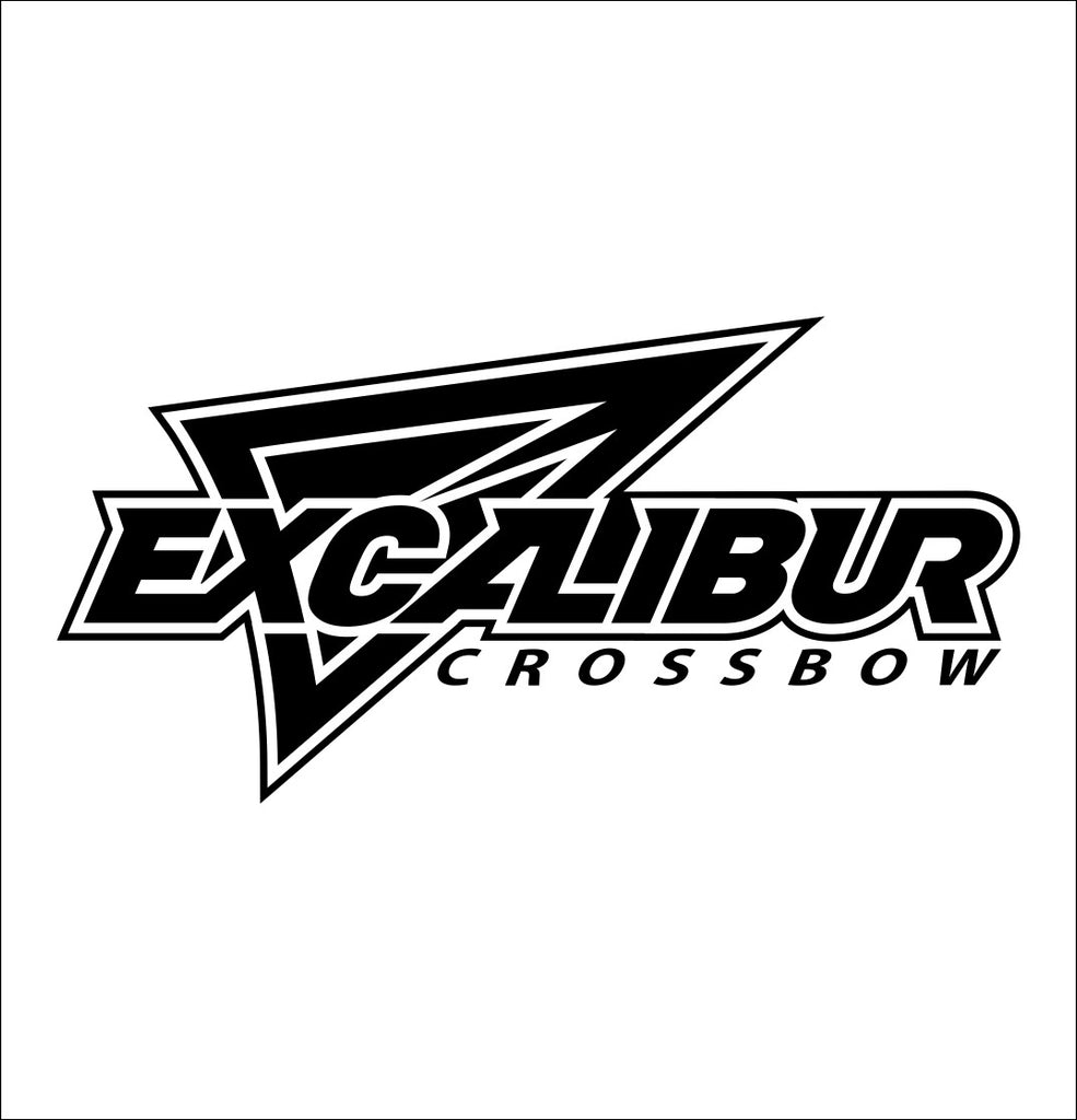 Excalibur Crossbows decal, sticker, car decal