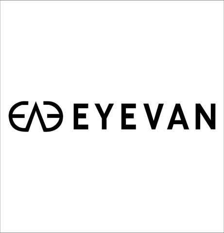 Eyevan decal, car decal sticker