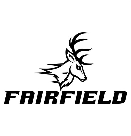 Fairfield Stags decal, car decal sticker, college football