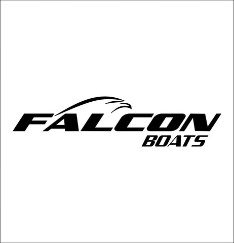 Falcon Boats decal, sticker, hunting fishing decal