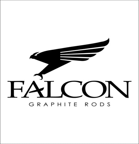 Falcon Rods decal, sticker, hunting fishing decal