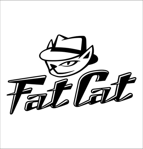 Fat Cat Darts decal, darts decal, car decal sticker
