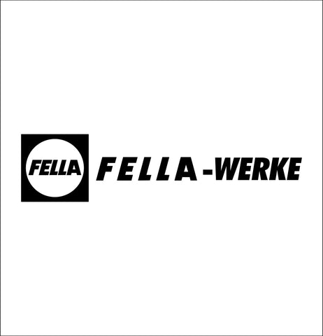 Fella Werke decal, farm decal, car decal sticker