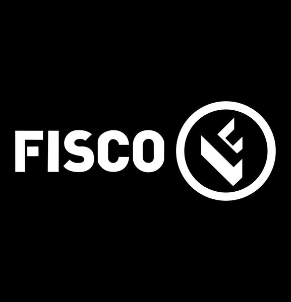 fisco tools decal, car decal sticker