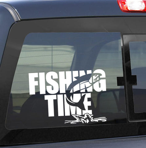 Fishing time fishing decal - North 49 Decals