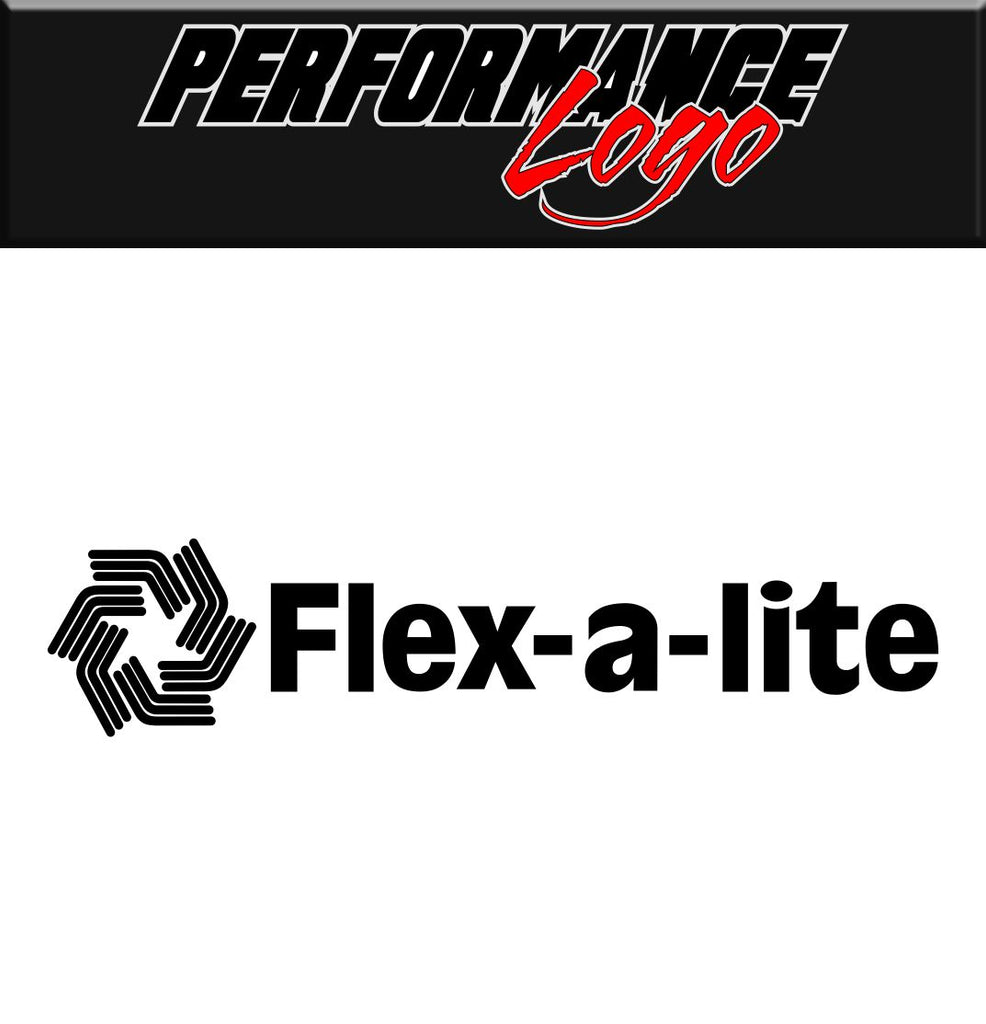 Flex a Lite decal performance decal sticker