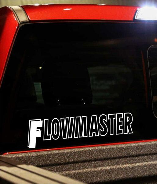 flowmaster performance logo decal - North 49 Decals