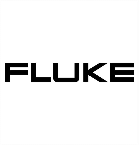 fluke tools decal, car decal sticker