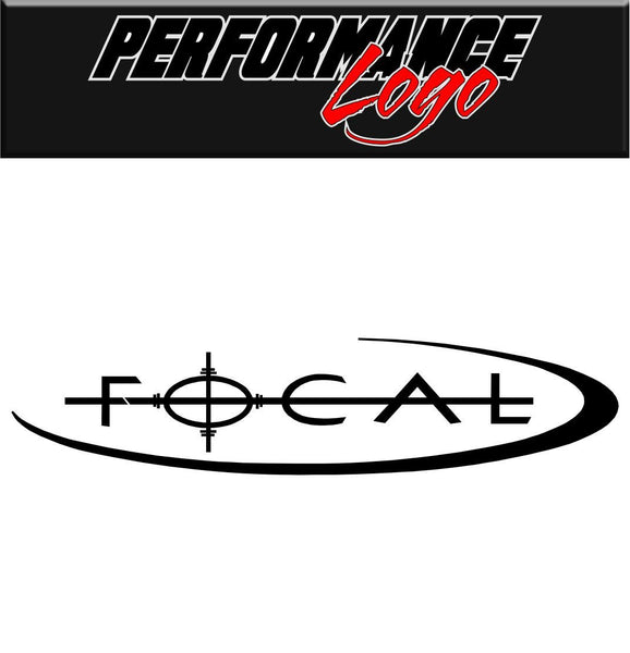 Focal Wheels decal performance decal sticker