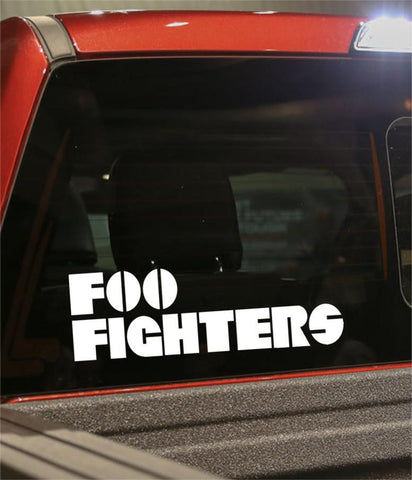 foo fighters band decal - North 49 Decals