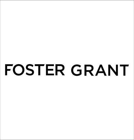 Foster Grant decal, car decal sticker