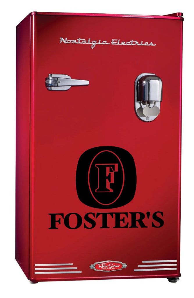 Fosters decal, beer decal, car decal sticker