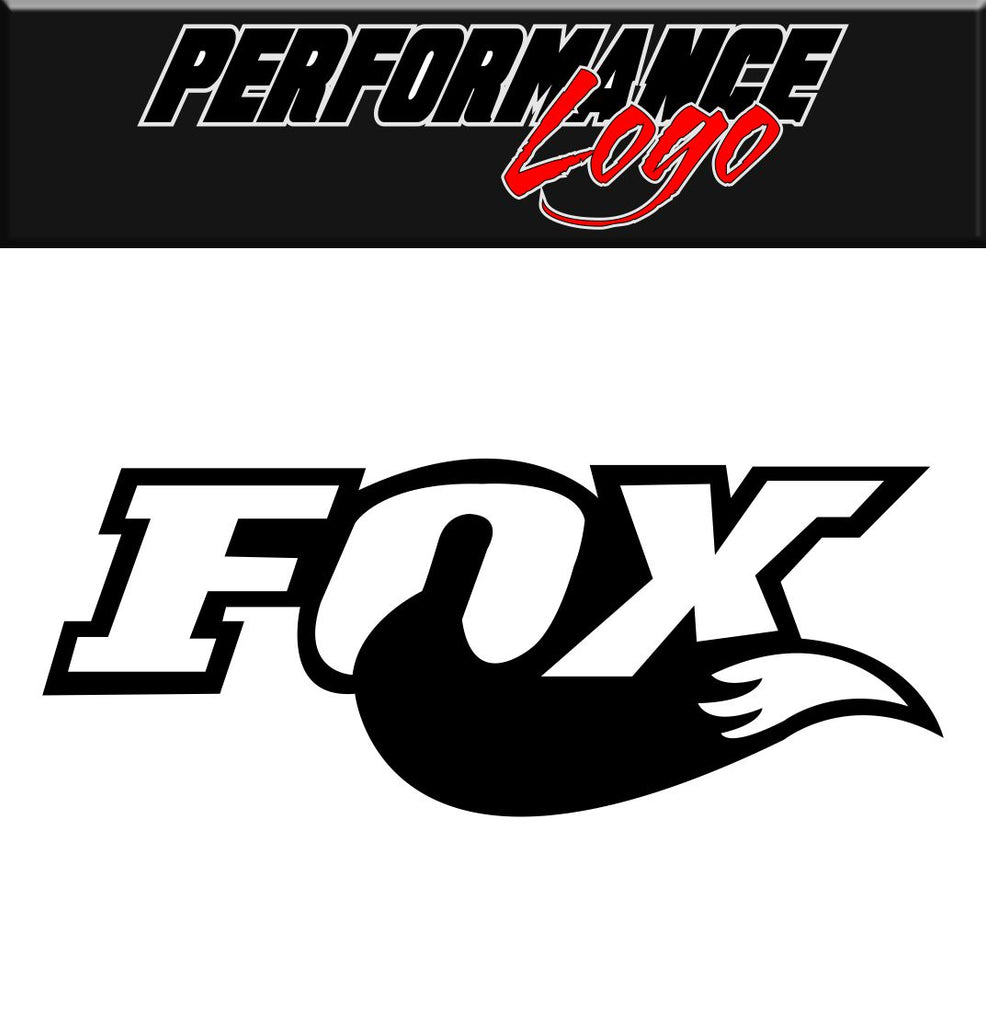 fox performance decal car racing decal sticker