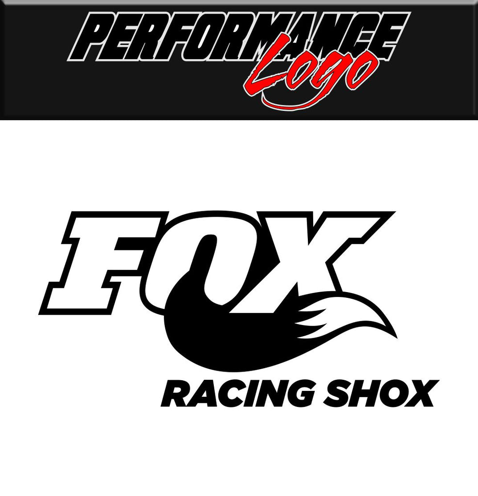 Fox Racing Shox decal performance decal sticker