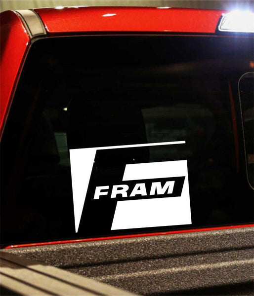 fram performance logo decal - North 49 Decals