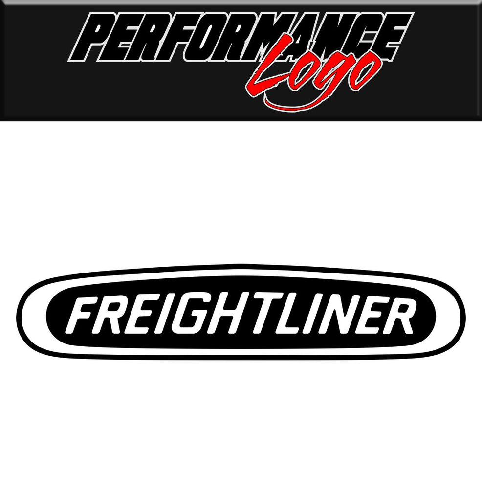 Freightliner decal performance decal sticker