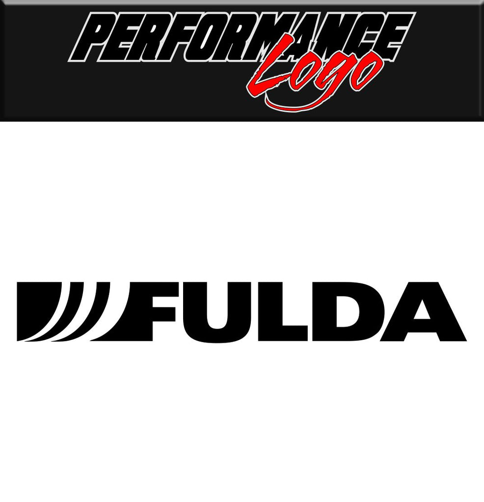 Fulda decal performance decal sticker