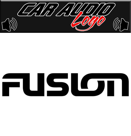 Fusion decal, sticker, audio decal