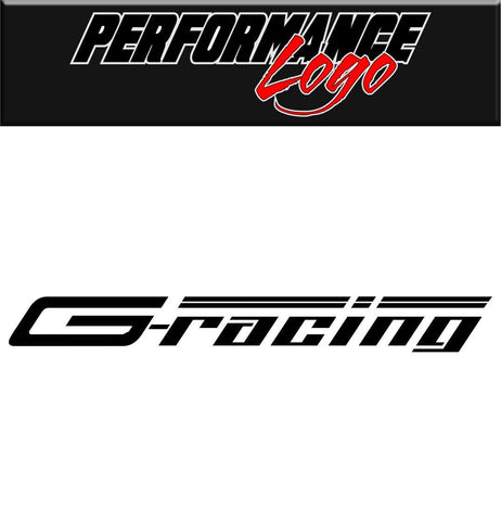 g-racing decal performance decal sticker - North 49 Decals
