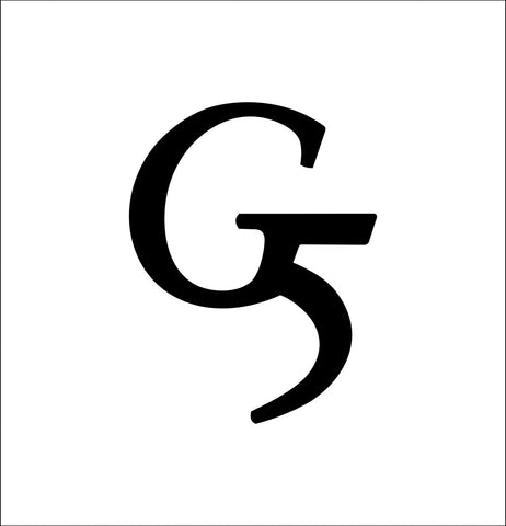 g5 outdoors decal, car decal sticker